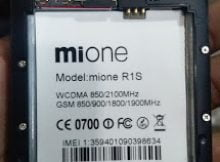 Mione R1s Flash File 5