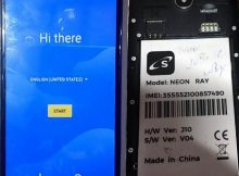 Safaricom Neon Ray Flash File 5