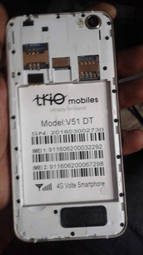 Trio V51 DT Flash File 3