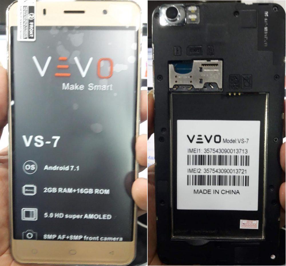 VEVO VS-7 Flash File