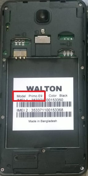 Walton Primo E9 Frp reset File 40MB Frp lock File 1
