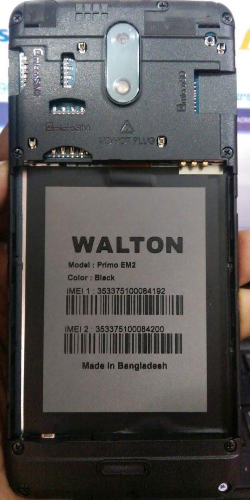 Walton Primo EM2 Flash File 3
