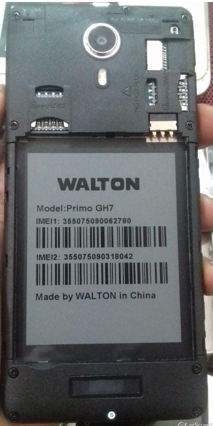 Walton Primo GH7 Frp reset File 40MB Frp lock File 3