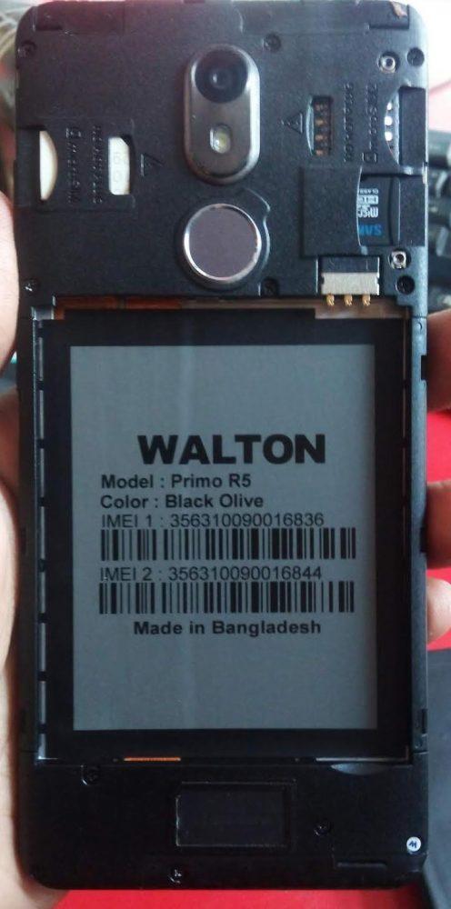 Walton Primo R5 Frp reset File 40MB Frp lock File 3
