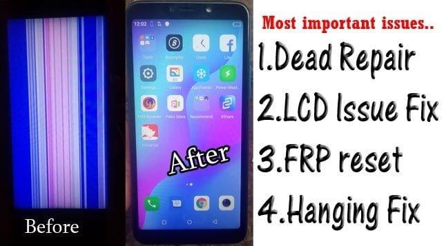 iTel A56 W6004 LCD Fix Flash file firmware