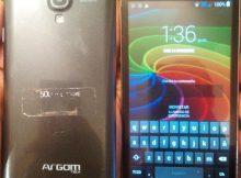 Argom E500 Firmware flash file