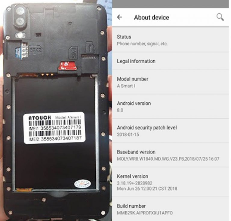 Atouch A Smart i Flash File | Firmware 3