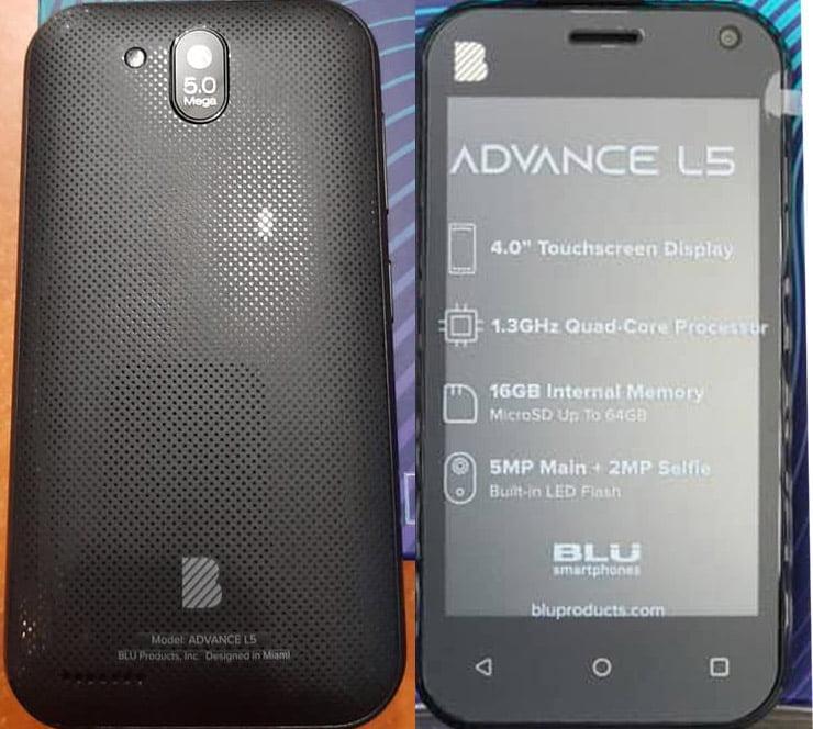 BLU Advance L5 A390 Flash File 3