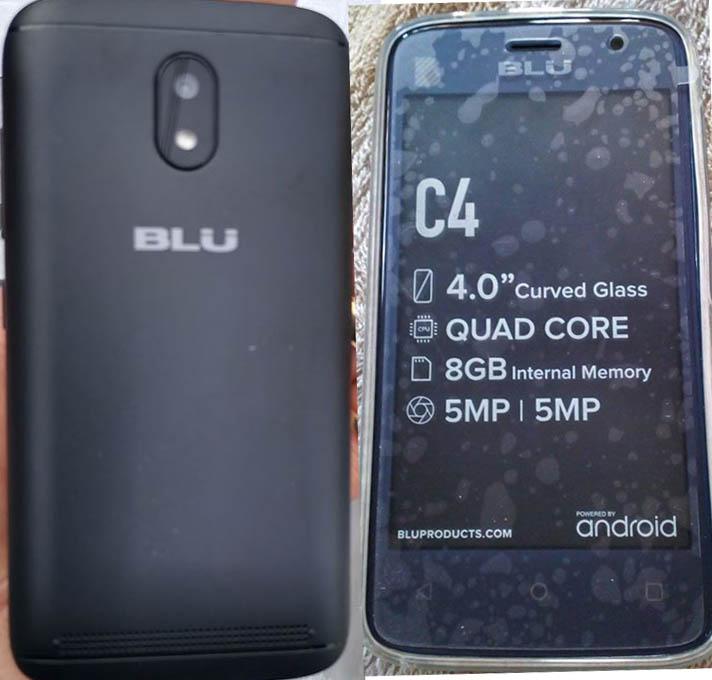 Blu C4 Firmware Flash File