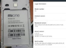 Mione C9 Flash File | Firmware 1