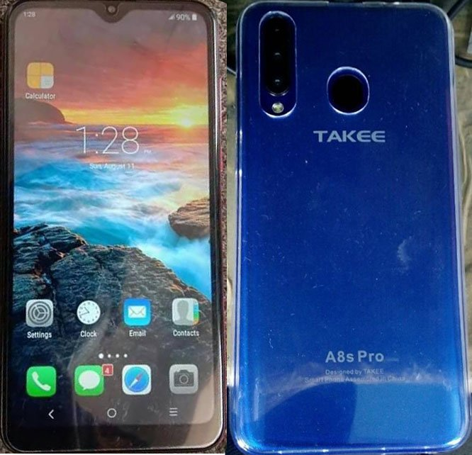 Takee A8s Pro Flash File | Firmware 3