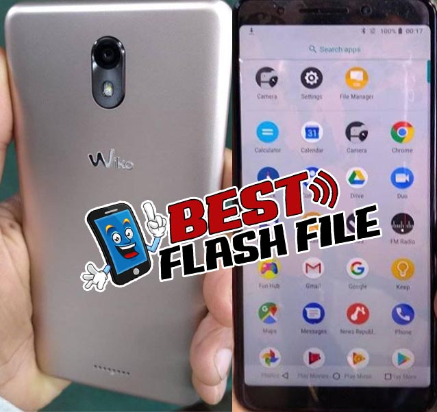 Wiko View GO Flash File 1