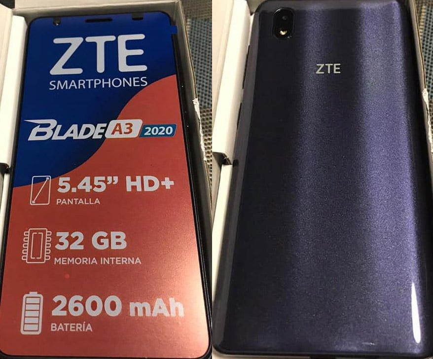 ZTE Blade A3 2020 Telcel Flash File 3