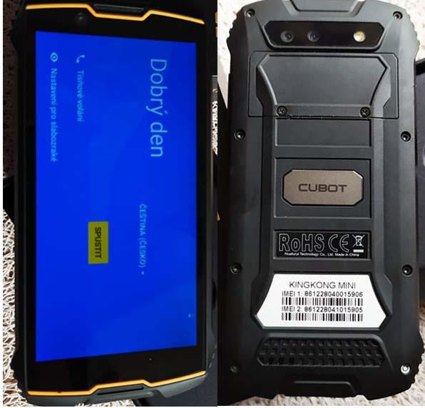 Cubot KingKong Mini Flash File | Firmware 1