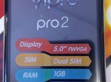 Vipro PRO 2 Flash File | Firmware 1