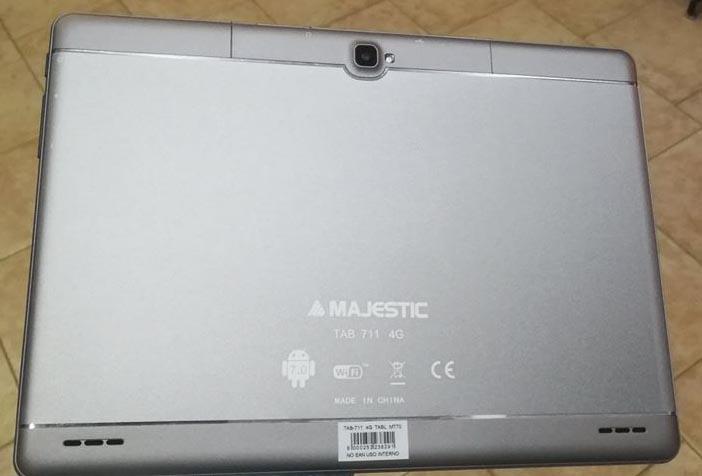 Majestic Tab 711 4G Firmware