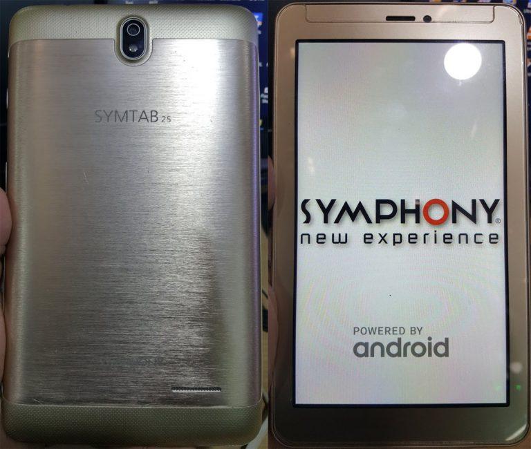 symphony tab 25 Flash File File
