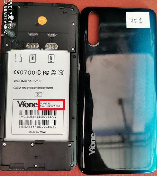 Vfone S6 Flash File Firmware