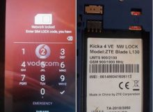 ZTE Blade L130 Flash File