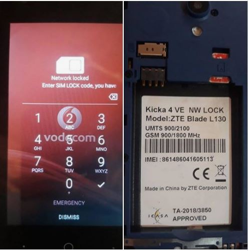ZTE Blade L130 Flash File
