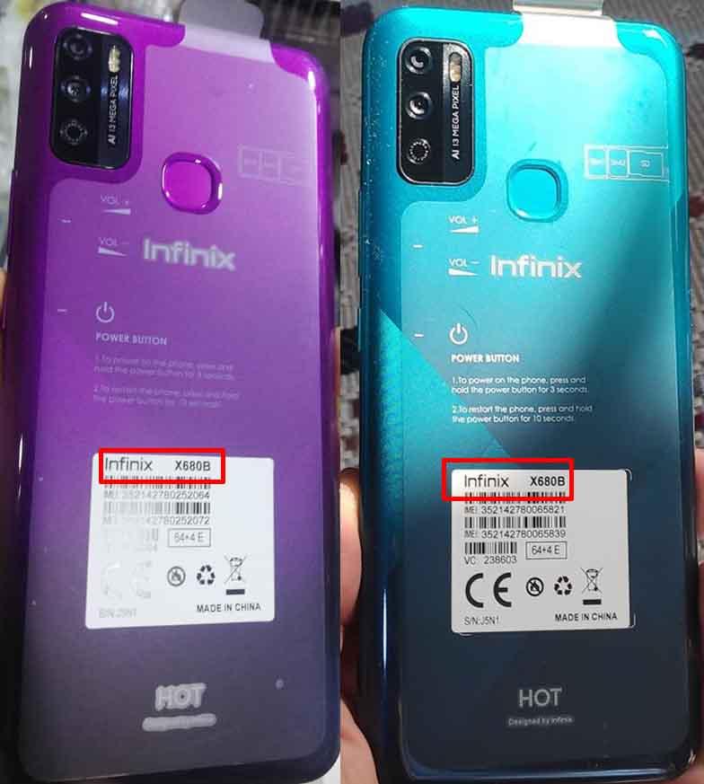 Infinix HOT 9 Play X680B Firmware