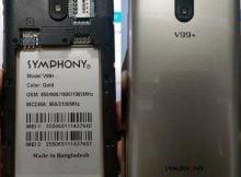 Symphony V99+ Plus flash file firmware,