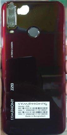 Symphony Z28 flash file firmware,