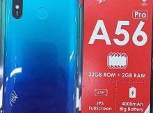 itel A56 Pro W6004P Firmware