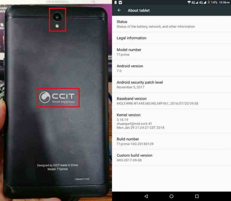 CCIT T1 Prime Tab Flash File Tested Firmwar