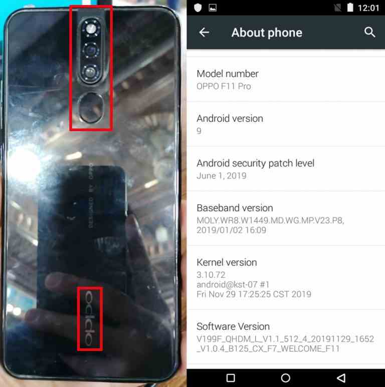 Oppo Clone F11 Pro Flash File Tested Firmware