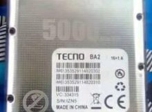 Tecno BA2 Flash File Tested Firmware