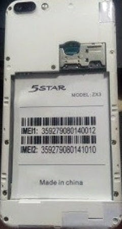 5Star ZX3 Flash File Tested Firmware