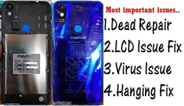 Maximum MB102 Flash File all Version