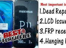 Maximus P11 Flash File Tested Firmware