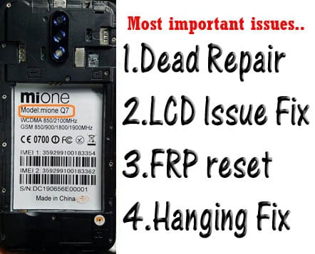 Mione Q7 Flash File Tested Firmware