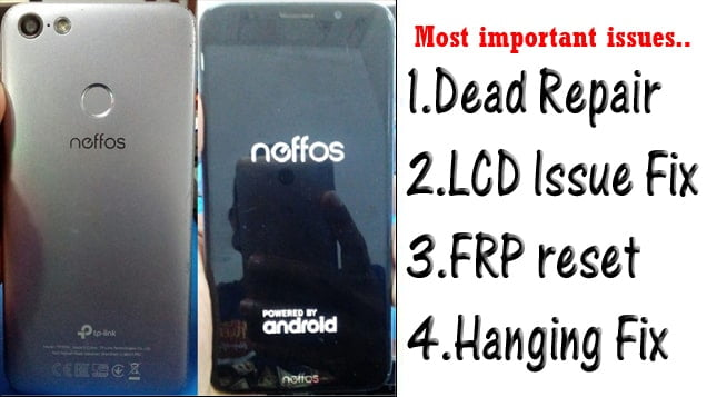 Neffos C9 and C9A Flash File Tested Firmware