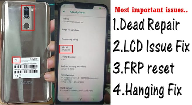 Ravoz R9 Flash File Firmware