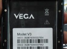 Vega V3 flash file firmware,