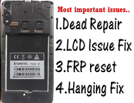 Invens A4 Flash File Tested Firmware