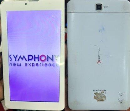 Symphony T7 Lite Tab Flash File