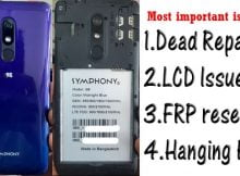 Symphony i98 Flash File Tested Firmware
