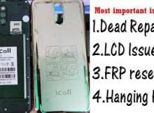iCall Y3 Flash File Tested Firmware