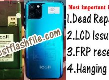 iCall i11 Flash File Tested Firmware 1