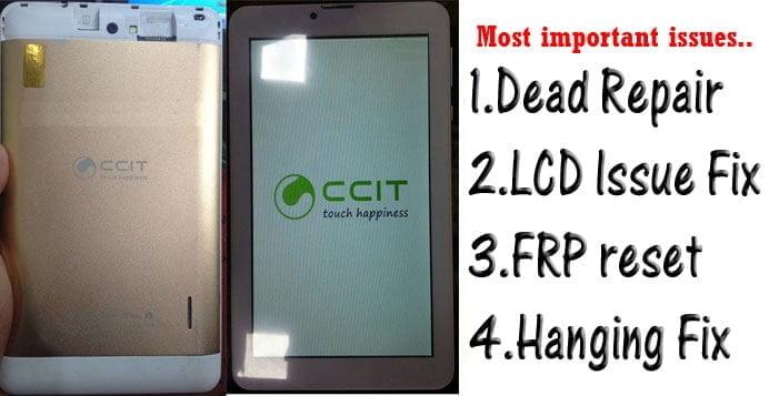 CCIT A78W Tab flash file firmware