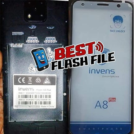 Invens A8 Plus flash file firmware,