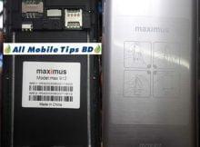 Maximus Max912 flash file firmware