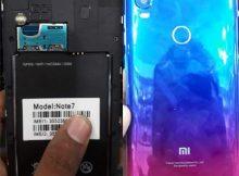 Mi Clone Note 7 flash file firmware,
