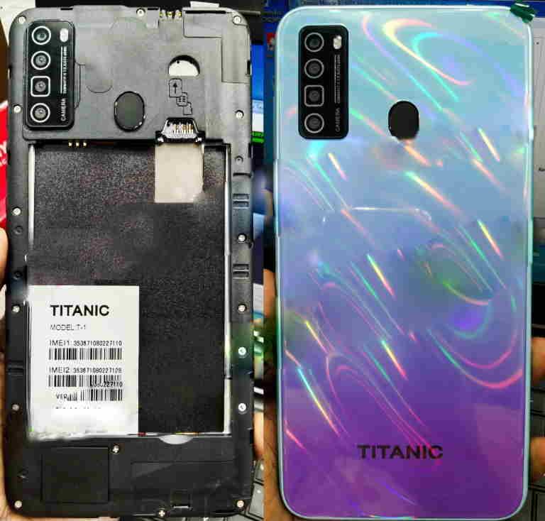 Titanic-T-1 flash file firmware