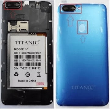 Titanic-T-1 flash file firmware,