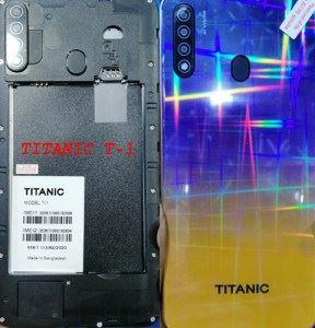 Titanic-T1 flash file firmware,